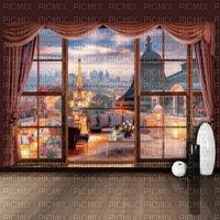 eiffel tower paysage landscape fond background city  paris image room zimmer chambre window fenetre