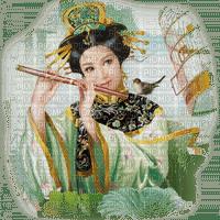 flûtiste Asie