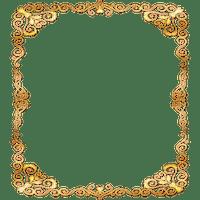 gold deco ornament frame or cadre