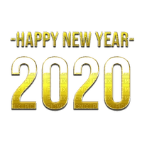 new year 2020 silvester number  text la veille du nouvel an Noche Vieja канун Нового года gold tube