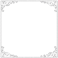 frame white ornament corner cadre coin ornement
