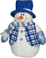 hiver bonhomme de neige_Winter Snowman