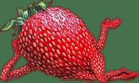 Kaz_Creations Funny Strawberry