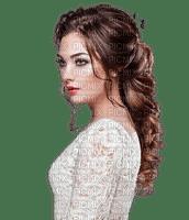 Woman White Brown  - Bogusia