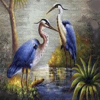grue paysage crane landscape