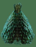 Kaz_Creations Peacock Dress Fashion Deco