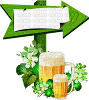 st patrick day deco beer