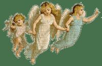 Vintage, drei Engel,
