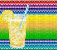 multicolore image encre kaléidoscope bon anniversaire mariage  félicitations  diplôme color effet thé été limonade citron boisson violet jaune  edited by me