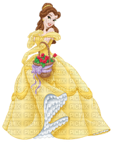 beauty and the Beast disney cartoon movie film tube girl fairy tale story yellow woman femme