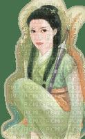 femme asiatique.