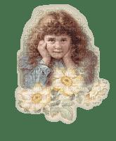 Girl, Girls, Fille, Kid, Kids, Flower, Flowers, Deco,  Background, Backgrounds - Jitter.Bug.Girl