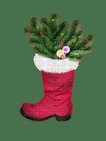 Christmas gifts decoration boot tube Noël cadeaux décoration botte tube