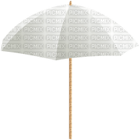 sea beach plage tube parasol umbrella bouclier   strand summer ete  white