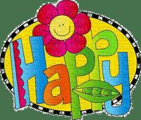 Kaz_Creations Deco  Logo Text Happy
