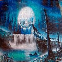 wolf painting bg transparent loup fond