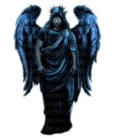 angel blue gothic ange bleu gothique