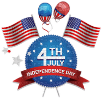 Kaz_Creations America 4th July Independance Day American Flag Text