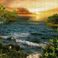 sunset bg gif coucher soleil fond⛅