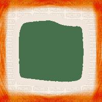 cadre frame orange