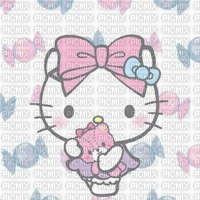Bonbon fond hello kitty background candy