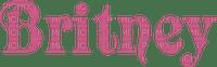 Kaz_Creations Logo Text Britney