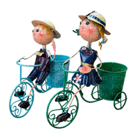 Kaz_Creations Deco Garden Planters Bike