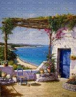 fond-background-sea-tube-paysage-Blue DREAM 70