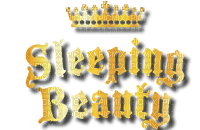 sleeping beauty text logo