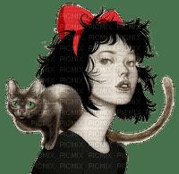 Women. Cat. Leila
