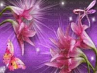 kwiaty,motyle