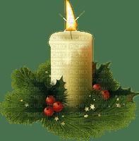 CHrISTMAS  candle deco