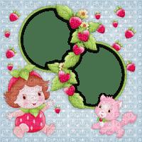 Kaz_Creations Backgrounds Background Frames Strawberry Shortcake