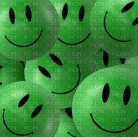 Background. Smiles. Green. Leila