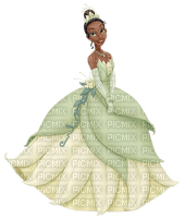 image encre couleur anniversaire effet princesse Tiana Disney robe  edited by me