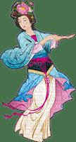 Danseuse japonaise.