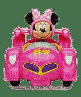 minnie mouse race car cartoon