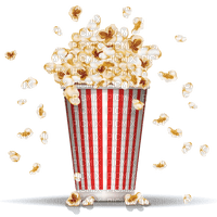 popcorn pop-corn deco  tube eat  kino  cinéma movie theater pot cinema