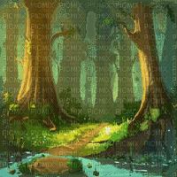 forest bg foret fond