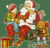 Père Noël cadeaux Noël_Père Noël cadeaux Noël_tube