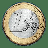 Pièce de 1 euro € coin money sous