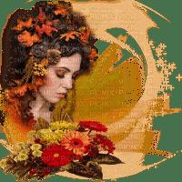 autumn woman deco femme automne