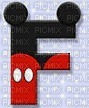 image encre lettre F Mickey Disney edited by me