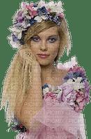 femme avec fleur.Cheyenne63
