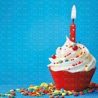 image encre gâteau pâtisserie bon anniversaire candi glacer sucre edited by me