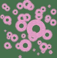 bubbles pink deco fond