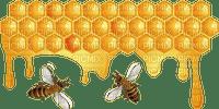 Kaz_Creations Cute Cartoon Love Bees Bee Wasp Honeycomb