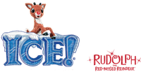 rudolph the red nosed reindeer text logo