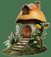 fairy tale, mushroom house