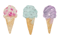 Aquarelle.Ice Cream.Watercolor.Victoriabea